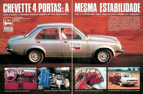 Old races chevette as s ries especiais e vers es mais raras for Chevette 4 portas