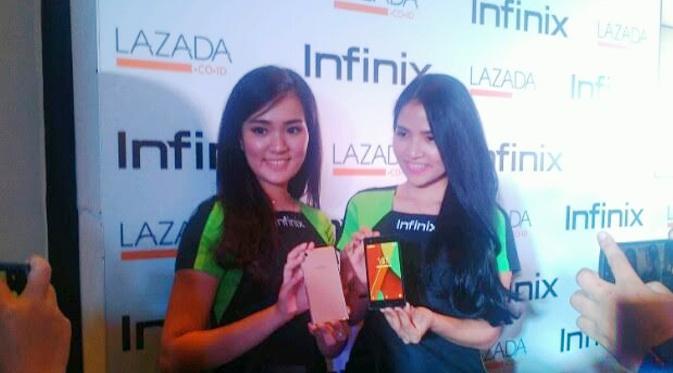 Infinix Hot 2, Smartphone Android One dengan RAM 2 GB