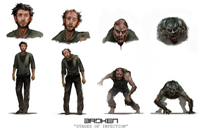 Broken (stages of infection)