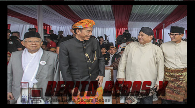 Jokowi, prabowo, Pilpres 2019, BeritaBebasX, Ulasan Berita, Dalam Negeri, Politik, Reaksi lawan politik,