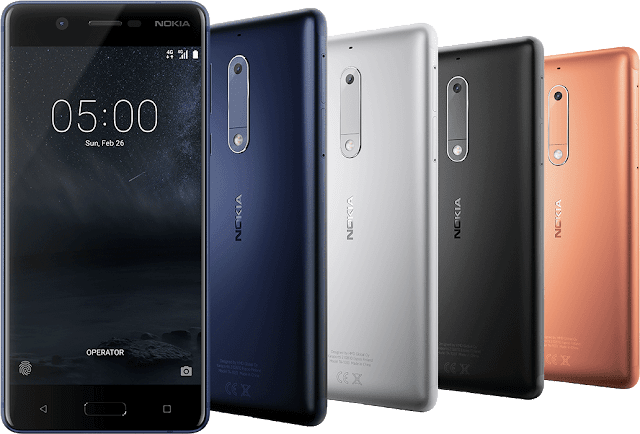 Nokia 5 Availability in India