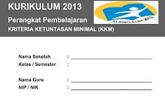 Format KKM Kurikulum 2013 Kelas 1 SD/MI Semester 2 Edisi Terbaru