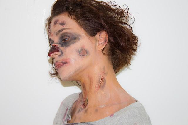 Mon premier maquillage façon Zombie