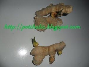 brotes de jengibre para ser cultivados en maceta o en huerto urbano