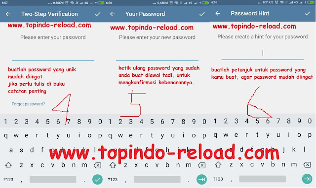 two step verification telegram by admin topindo