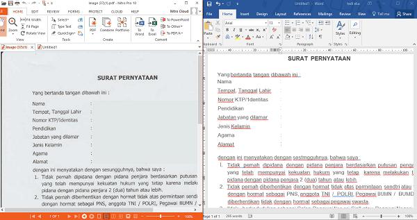Cara merubah file jpg hasil scan ke word