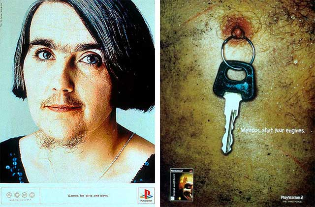 40 Most Creative & Controversial PlayStation Ads Image 24 25