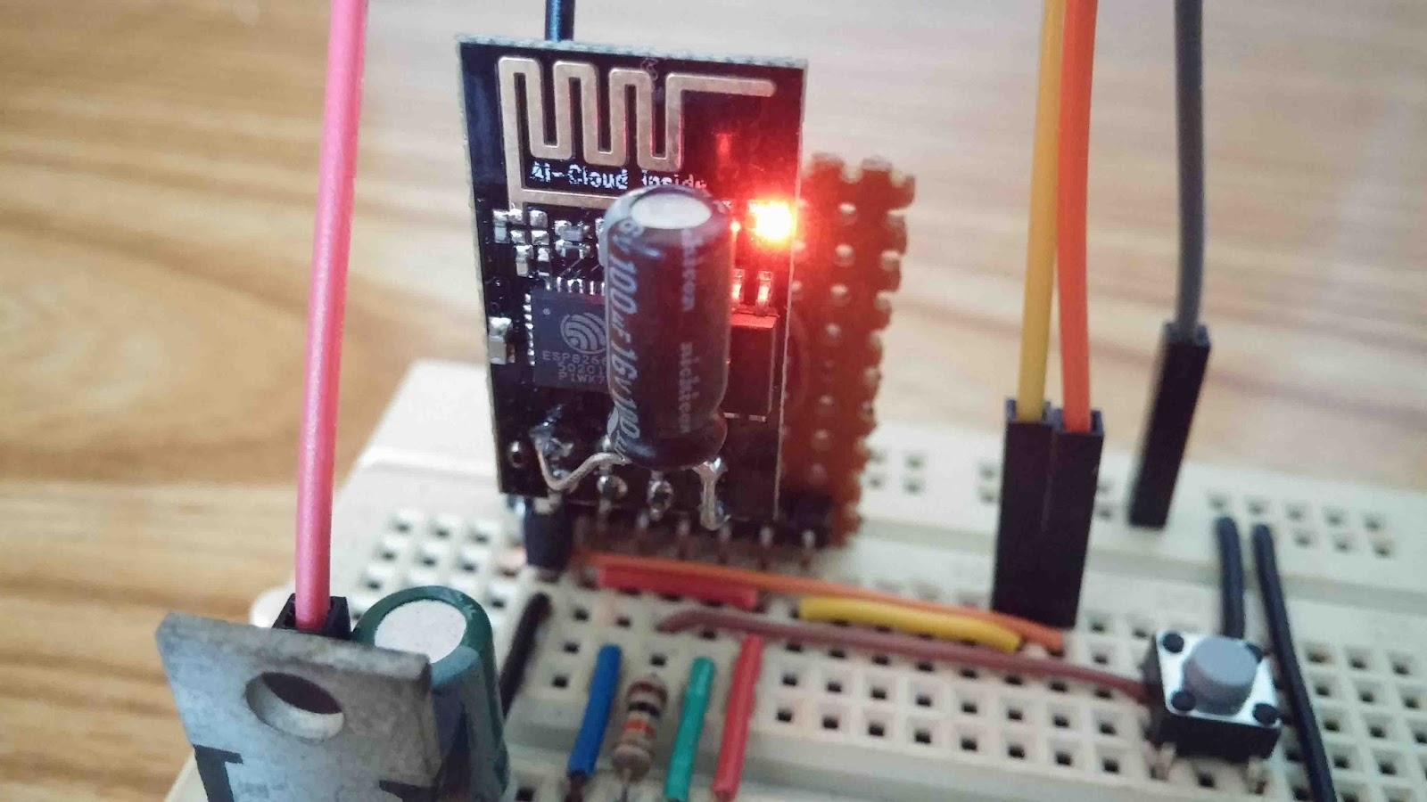 Embedded System Engineering: ESP8266 WiFi Module Tutorial 1