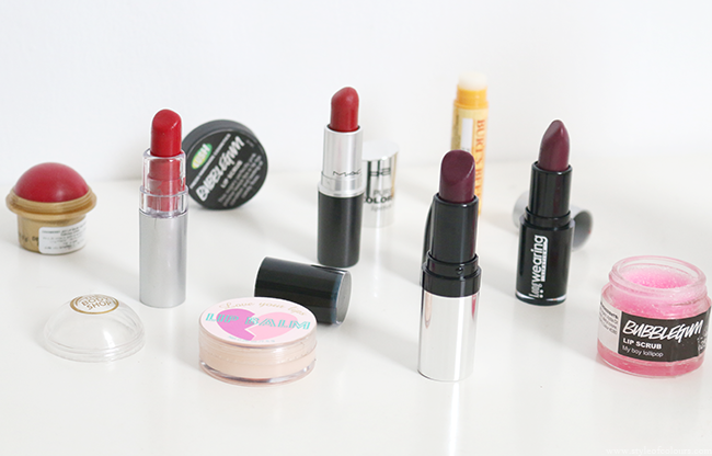 Favourite Winter Lip Products