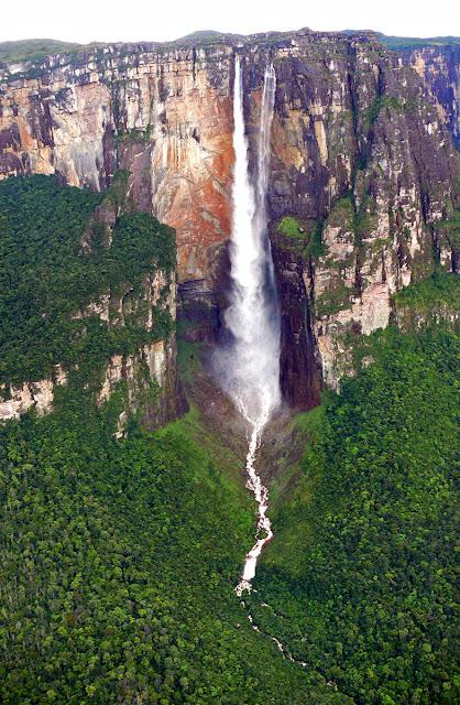 Air Terjun Angel Falls Tertinggi Di Dunia