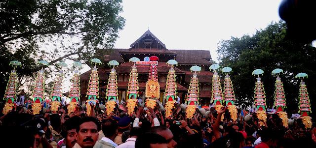 Vadakkunnathan Temple Thrissur, Kerala, india