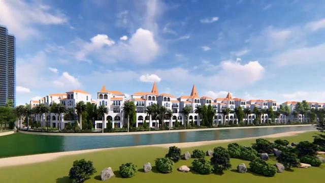 Biệt thự view sân Golf tại dự án Sunshine Wonder Villas