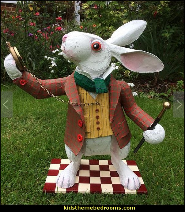 White Rabbit. This version with pocket watch and cane. Alice in Wonderland character.