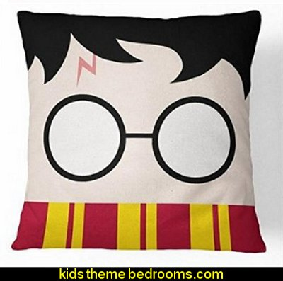 Harry Potter Cotton Throw Pillow