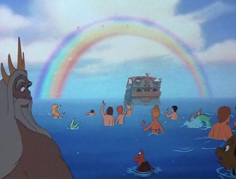 Imagen final de La sirenita - Cine de Escritor