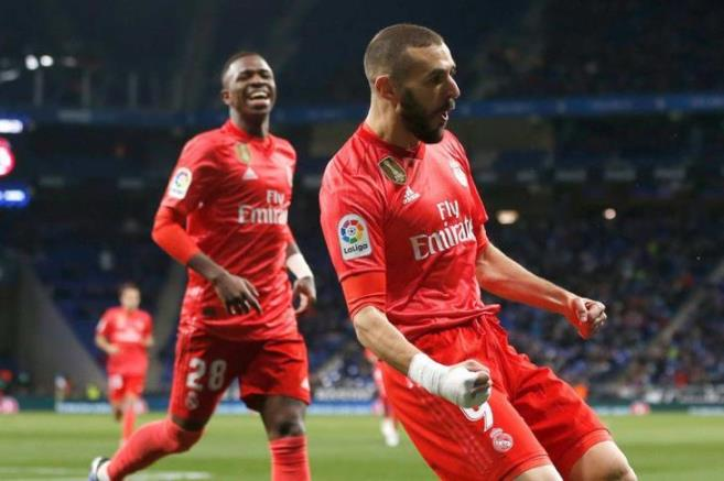 Benzema is in training for Real Madrid despite injury