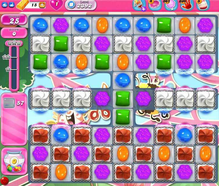 Candy Crush Saga level 2392