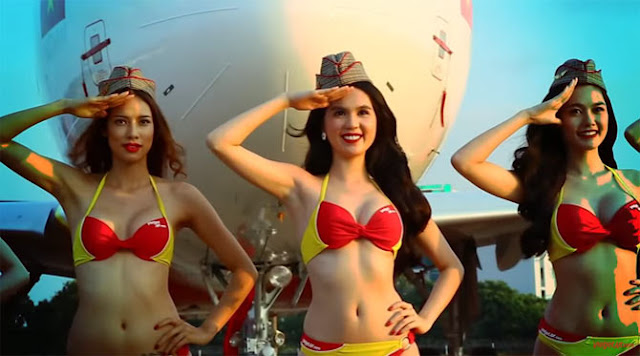 This Is The First Airline To Offer Hot Flight Attendants Wearing Bikinis To Make The Flight More Exciting For The Passengers!