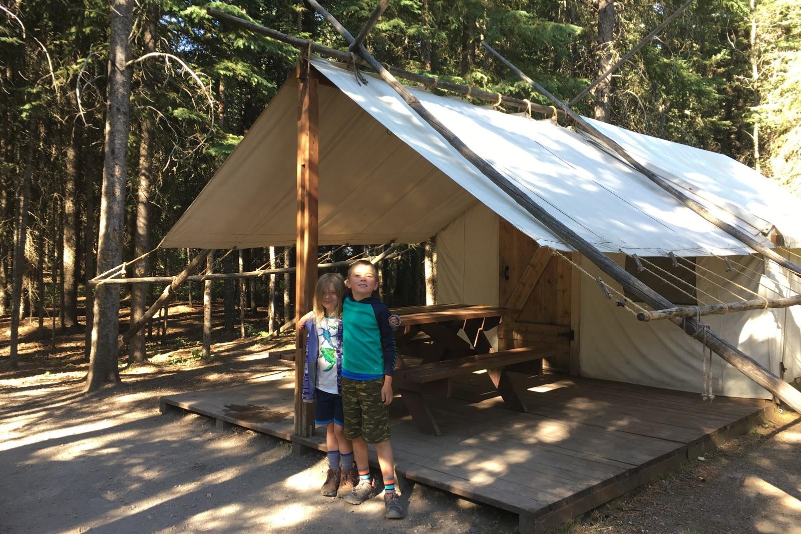 Family Adventures in the Canadian Rockies: Alberta Comfort Camping