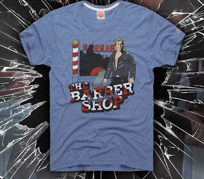 "WWE ""The Barber Shop Incident"" T-Shirt by HOMAGE"