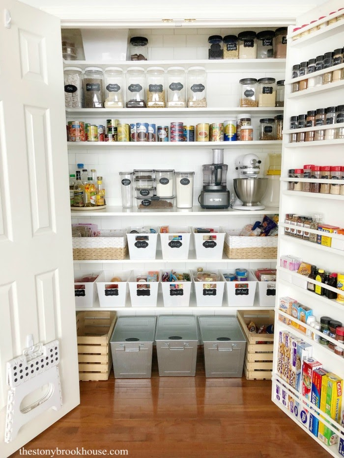 My Organized Pantry