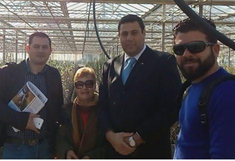 Μέλη της Ένωσης Νέων Αγροτών Αργολίδας με Κυπρίους γεωργούς και γεωπόνους σε Γαλατά, Επίδαυρο και Ναύπλιο