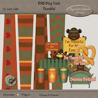 New Christmas Templates, plus a Blog Train