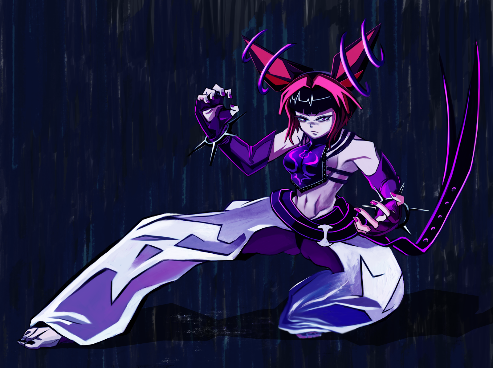 han juri in a 2d art