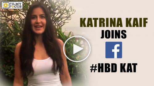Katrina Kaif Joins Facebook on her Birthday