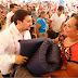 Entrega Fernando Castellanos ayuda humanitaria a afectados por lluvias