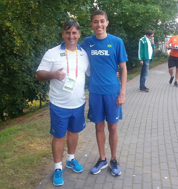 Mikael de Jesus, atleta TOP, conquista quarta colocação nos 400 m com barreiras do Mundial Sub-20 de Atletismo