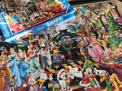 Disney Christmas jigsaw from Ravensburger