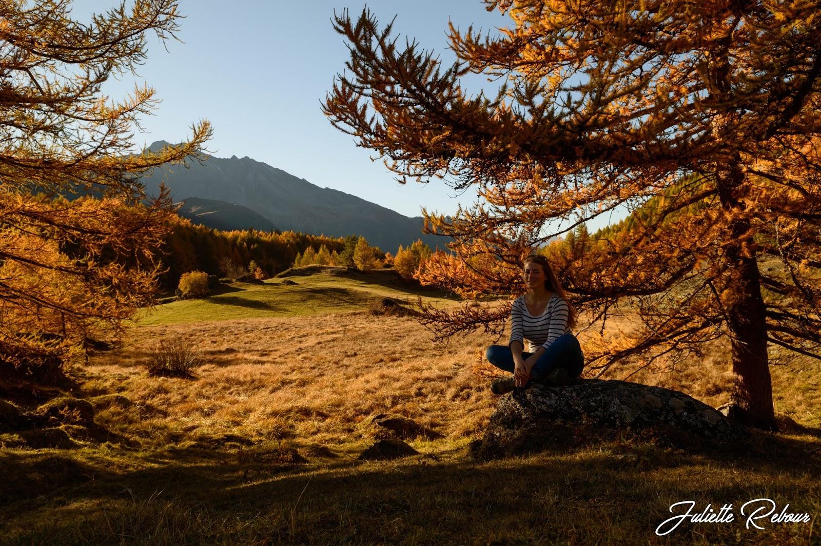 Randonnée en Savoie en automne