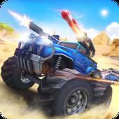 Download Game Overload: Multiplayer Battle Car Shooting Game v1.2 Apk For Android