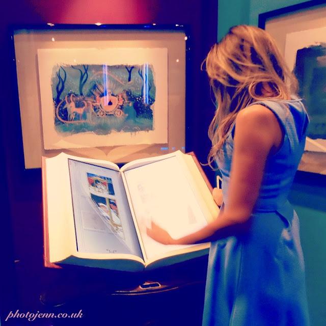 Cinderella-exhibition-2015-london-movie-disney-book