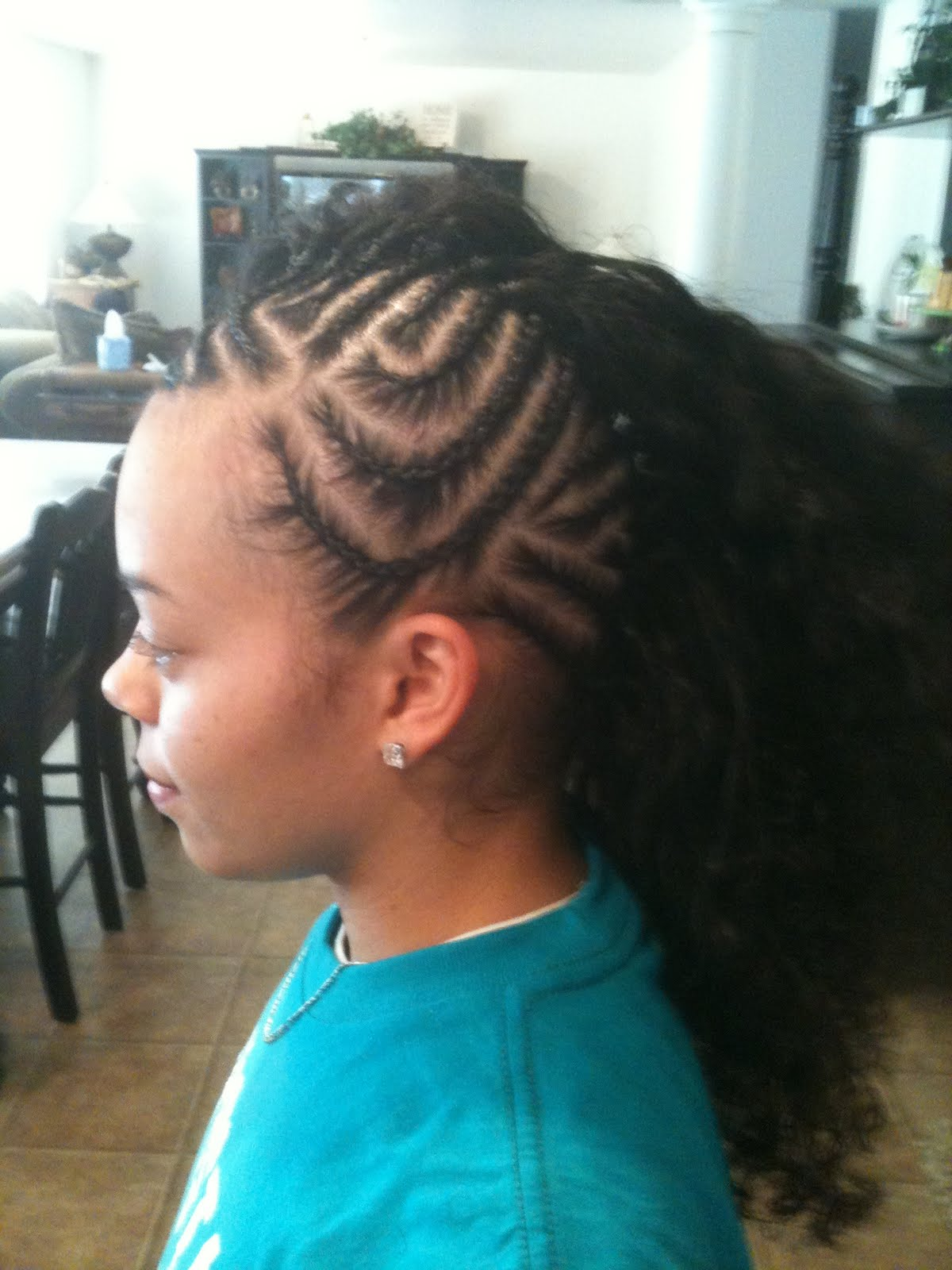 New Kids Braids Hairstyles Black Braiding Zimbio Tattoo. 1200 x 1600.Hairstyles Braids Children