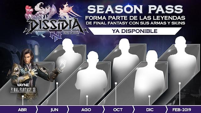 Vayne es el primer personaje novedoso para Dissidia Final Fantasy NT