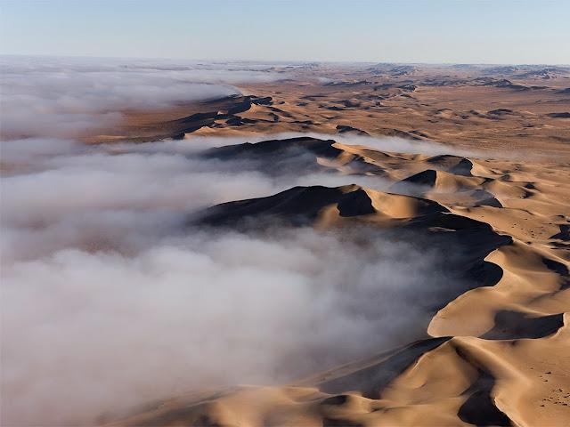 Nebbia nel Deserto del Namib