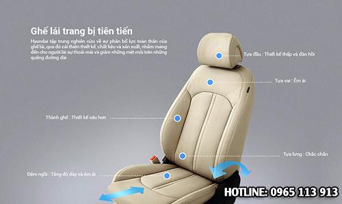 Ghế lái Hyundai Sonata Hải Phòng