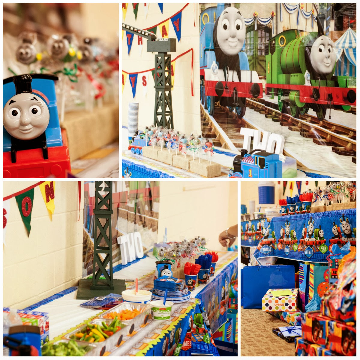 In This Crazy Life: Thomas The Train Birthday Party- The
