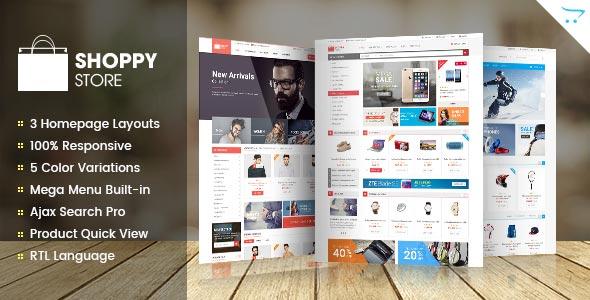 Free download ShoppyStore WooCommerce WordPress Theme V3.3.1