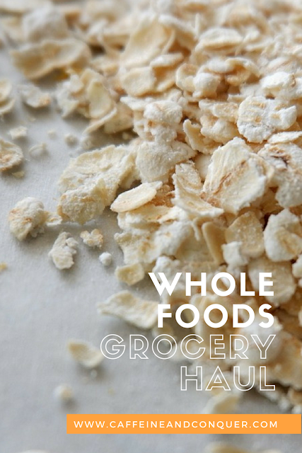 Whole Foods Market Grocery Haul. See what I was able to get for $104! Vegetarian | Organic | Natural | Eco-Friendly | Grocery Haul | Healthy Eating | Clean Eating #vegetarian #groceryhaul #food #wholefoods #healthyeating