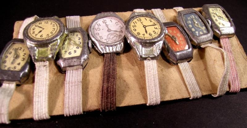 odpustowe zegarki village fair toy watches