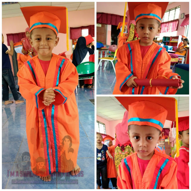 [Entri bergambar] : Pra-gradution day tadika KEMAS Seri Cheding B, Banting.
