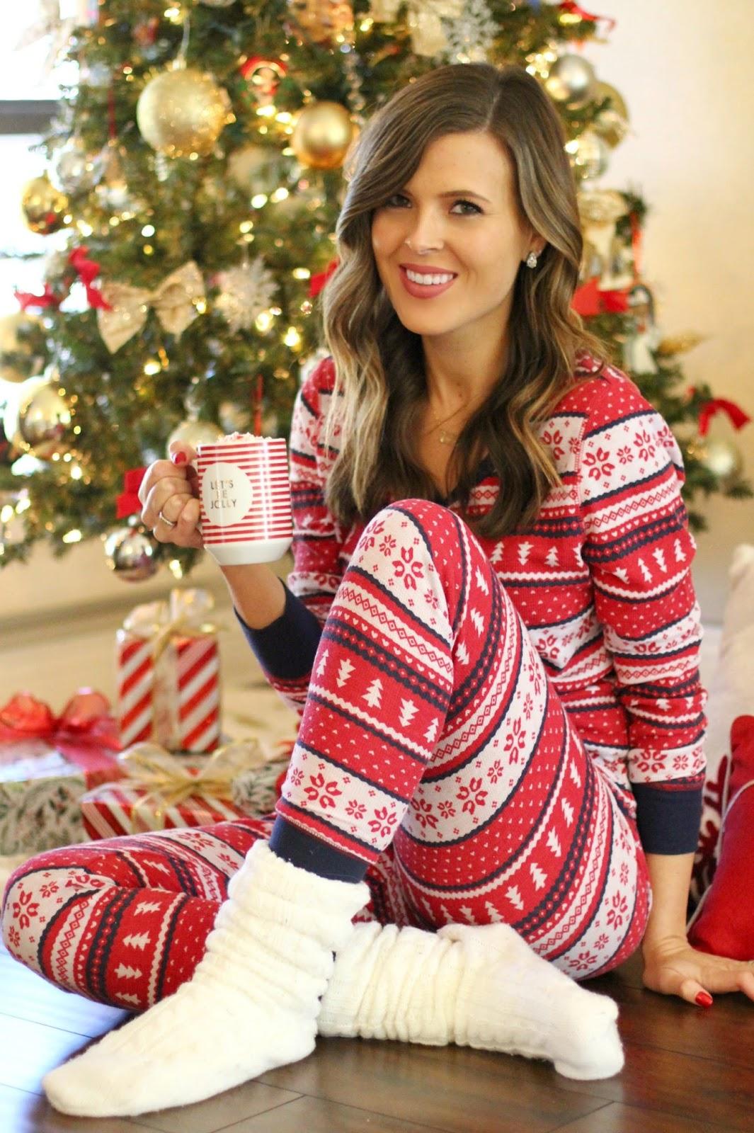 His & Hers Holiday Pajamas Under $100 - Brie Bemis Rearick