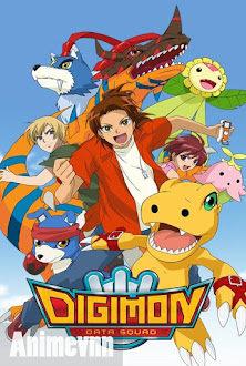 Digimon Adventure SS5 - Digimon Savers | Digimon Data Squad | Thế giới Digimon SS5 2006 Poster