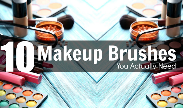10 Makeup Brushes You Actually Need By Barbie's Beauty Bits and Beauty Lally