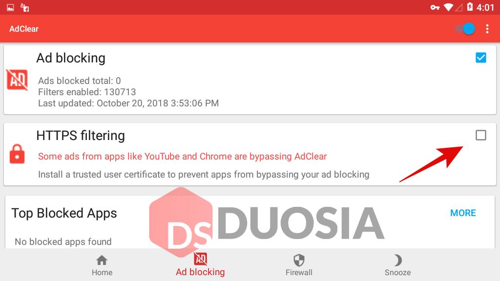 blokir iklan di semua aplikasi android