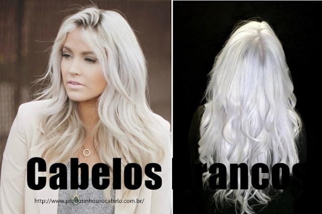 cabelo todo branco