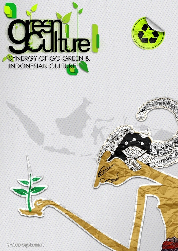 """15 Contoh Gambar Desain Poster Lingkungan """"Go Green ..."""